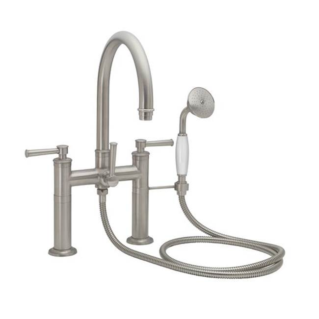 California Faucets Deck Mount Tub Fillers item 1308-48.20-PVD