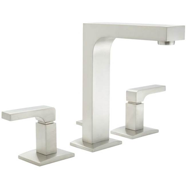 California Faucets Widespread Bathroom Sink Faucets item 7002ZF-SRB