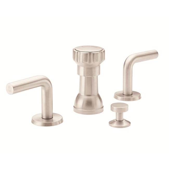 California Faucets Widespread Bathroom Sink Faucets item 7404-PRB
