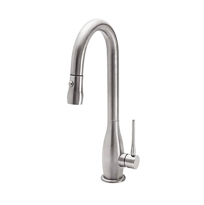 California Faucets Single Hole Kitchen Faucets item K80-101-WHT