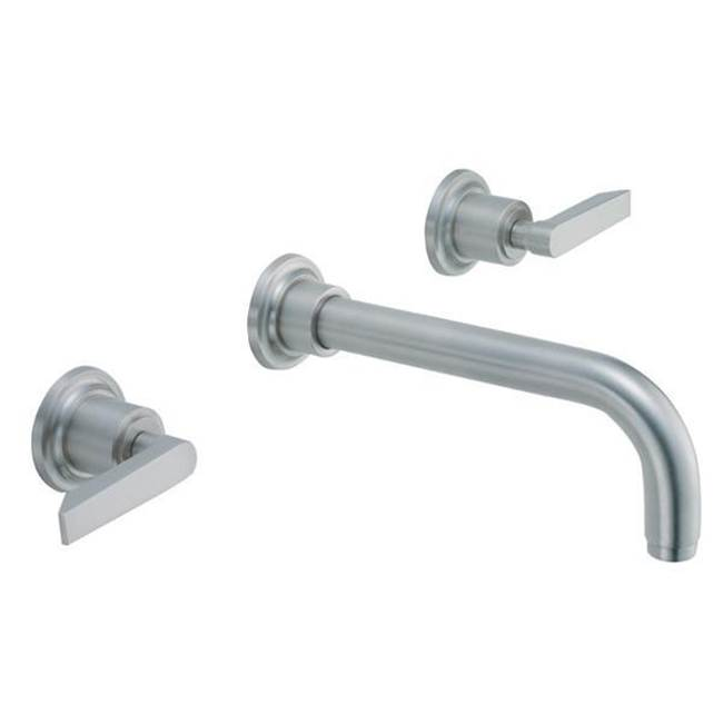 California Faucets Wall Mounted Bathroom Sink Faucets item TO-V4502-9-MBLK