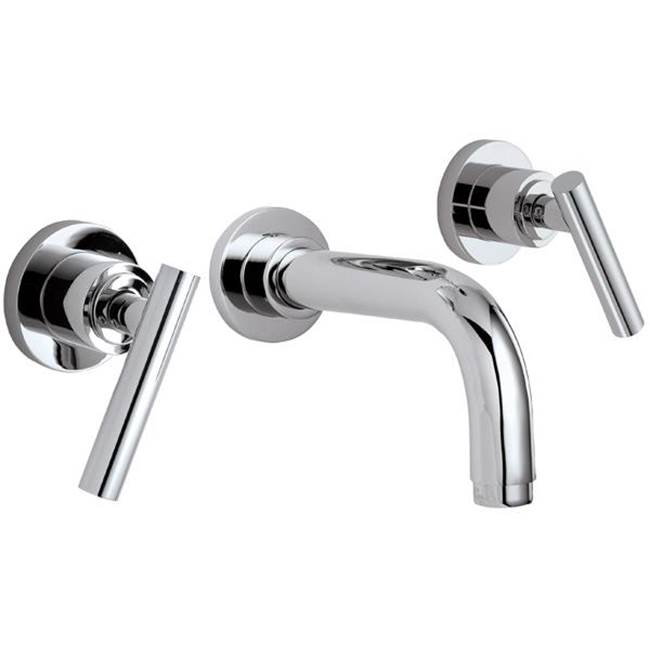 California Faucets Wall Mounted Bathroom Sink Faucets item TO-V6602-7-PRB