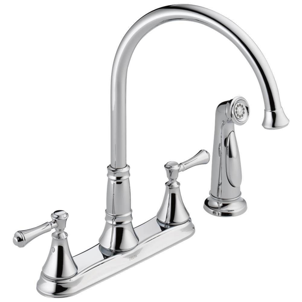 Delta Faucet Deck Mount Kitchen Faucets item 2497LF