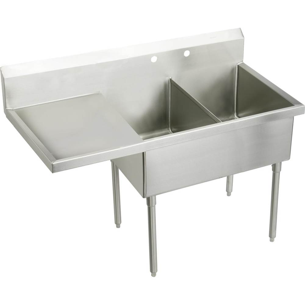Elkay Wall Mount Kitchen Sinks item SS8260L4