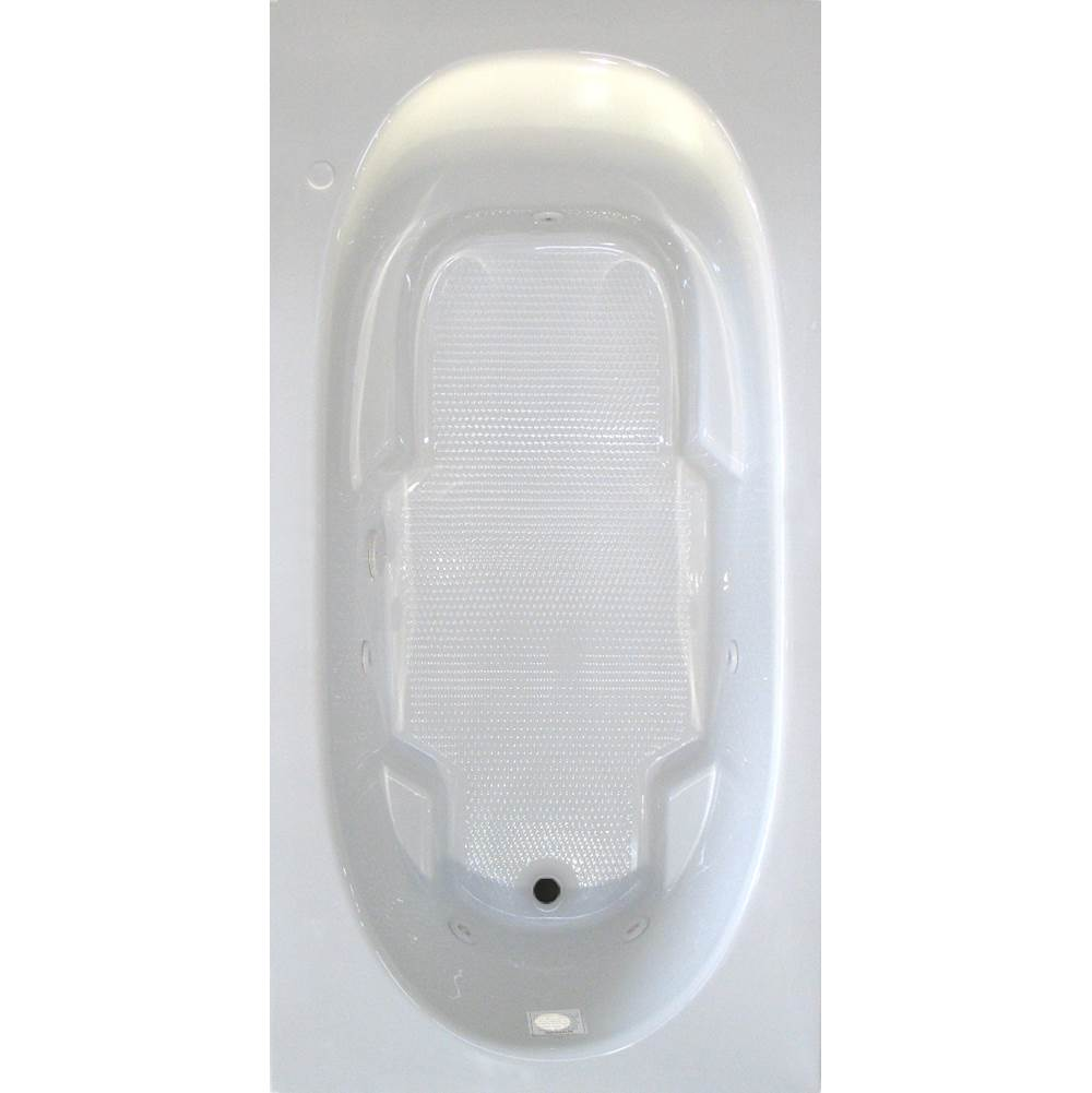 Jetta Drop In Whirlpool Bathtubs item E2S-6528RHRB