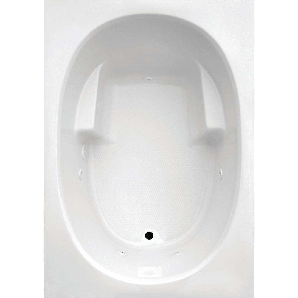 Jetta Drop In Whirlpool Bathtubs item E3S-6385RHRB