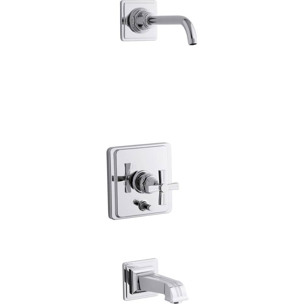 Kohler  Tub And Shower Faucets item T13133-3BL-CP