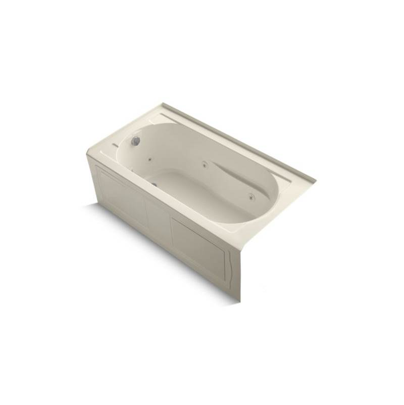 Kohler Three Wall Alcove Whirlpool Bathtubs item 1357-HL-47