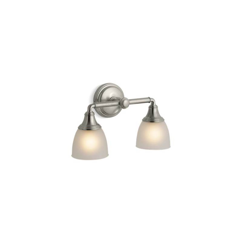 Kohler Two Light Vanity Bathroom Lights item 10571-BN