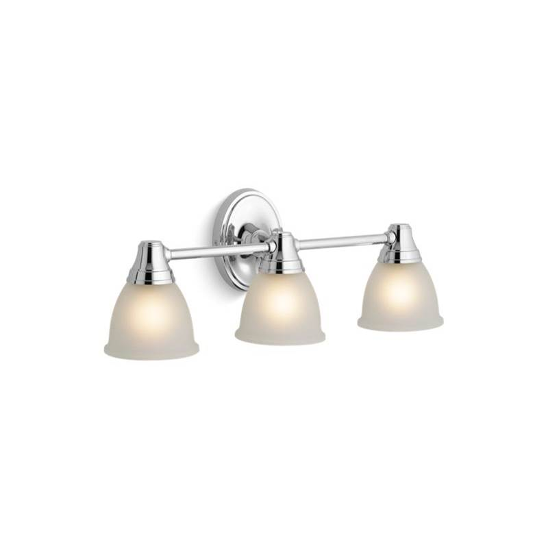 Kohler Three Light Vanity Bathroom Lights item 11367-CP