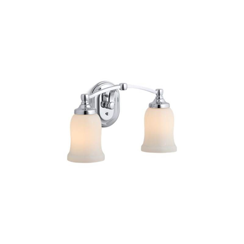 Kohler Two Light Vanity Bathroom Lights item 11422-CP