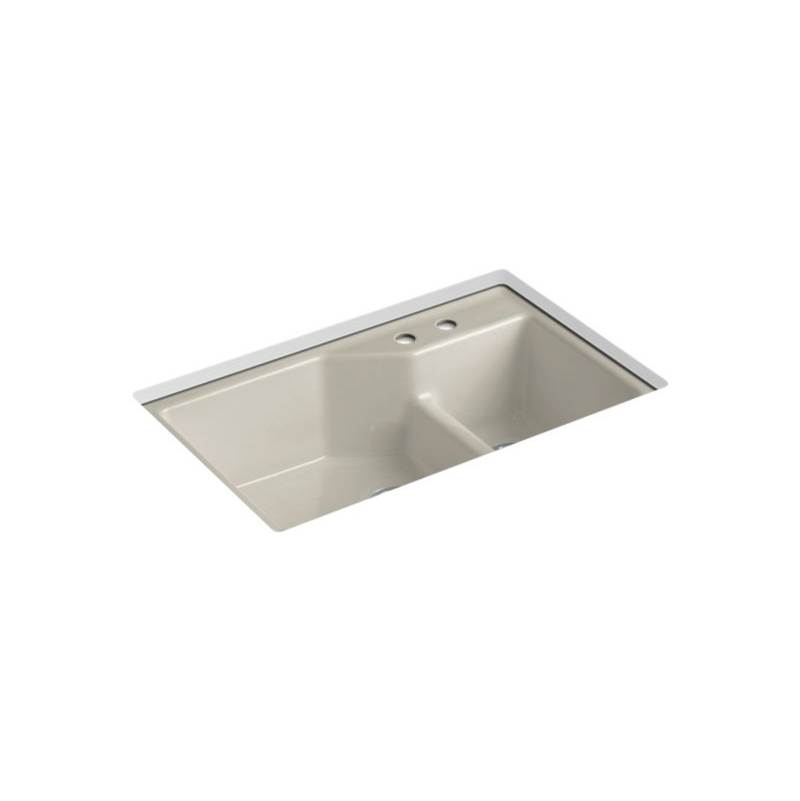 Kohler Undermount Kitchen Sinks item 6411-2-G9