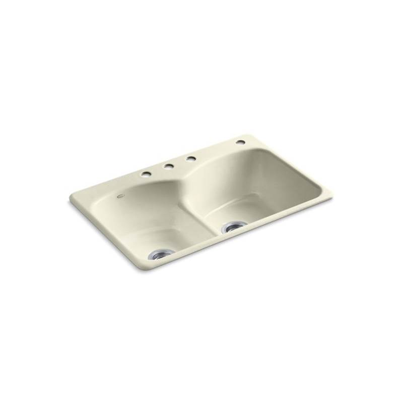 Kohler Drop In Kitchen Sinks item 6626-4-FD