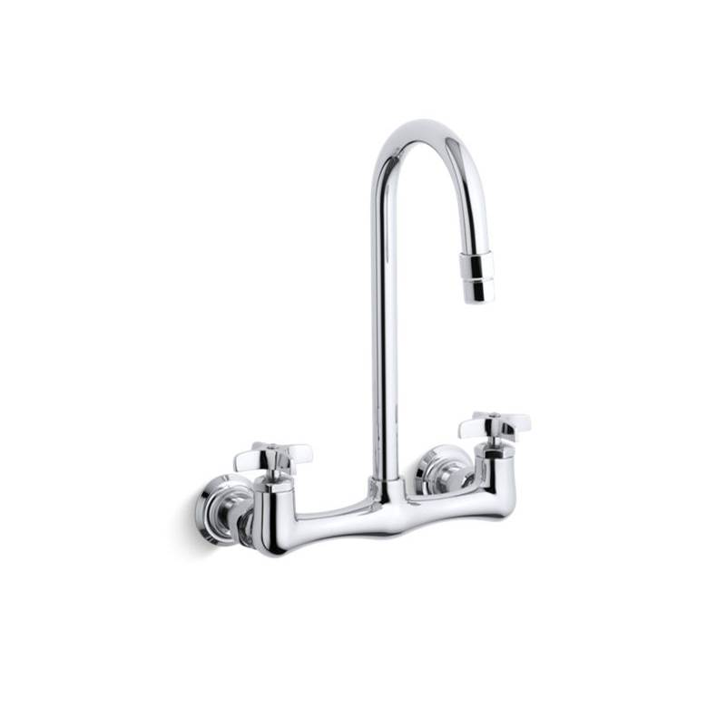 Kohler Wall Mount Laundry Sink Faucets item 7320-3-CP
