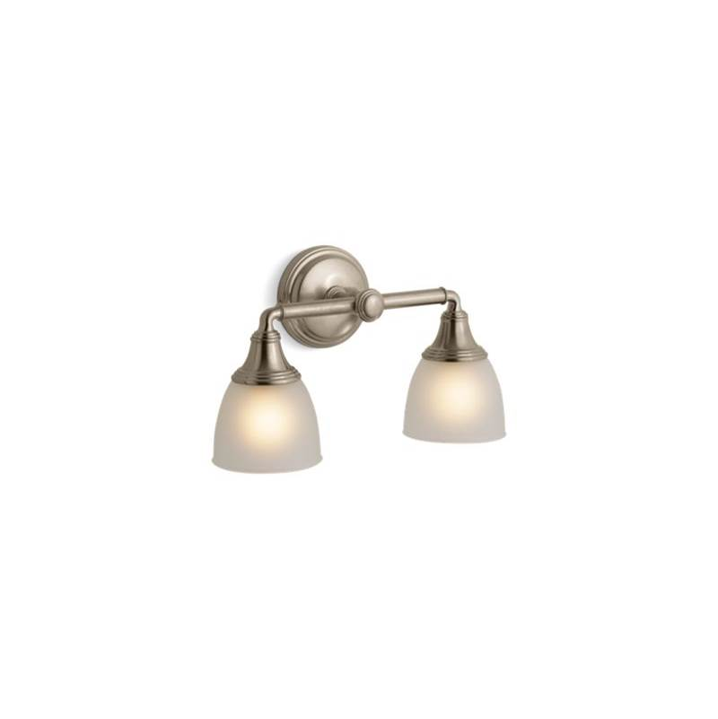 Kohler Two Light Vanity Bathroom Lights item 10571-BV