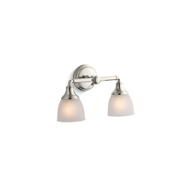 Kohler Two Light Vanity Bathroom Lights item 10571-SN