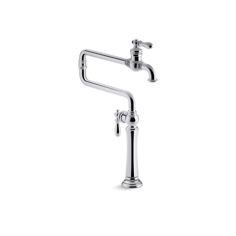 Kohler Deck Mount Pot Filler Faucets item 99271-CP