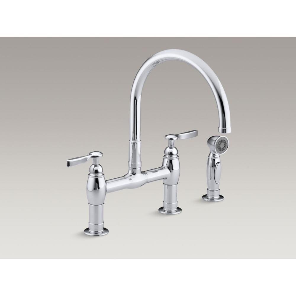 Kohler Bridge Kitchen Faucets Item 6131 4 2BZ