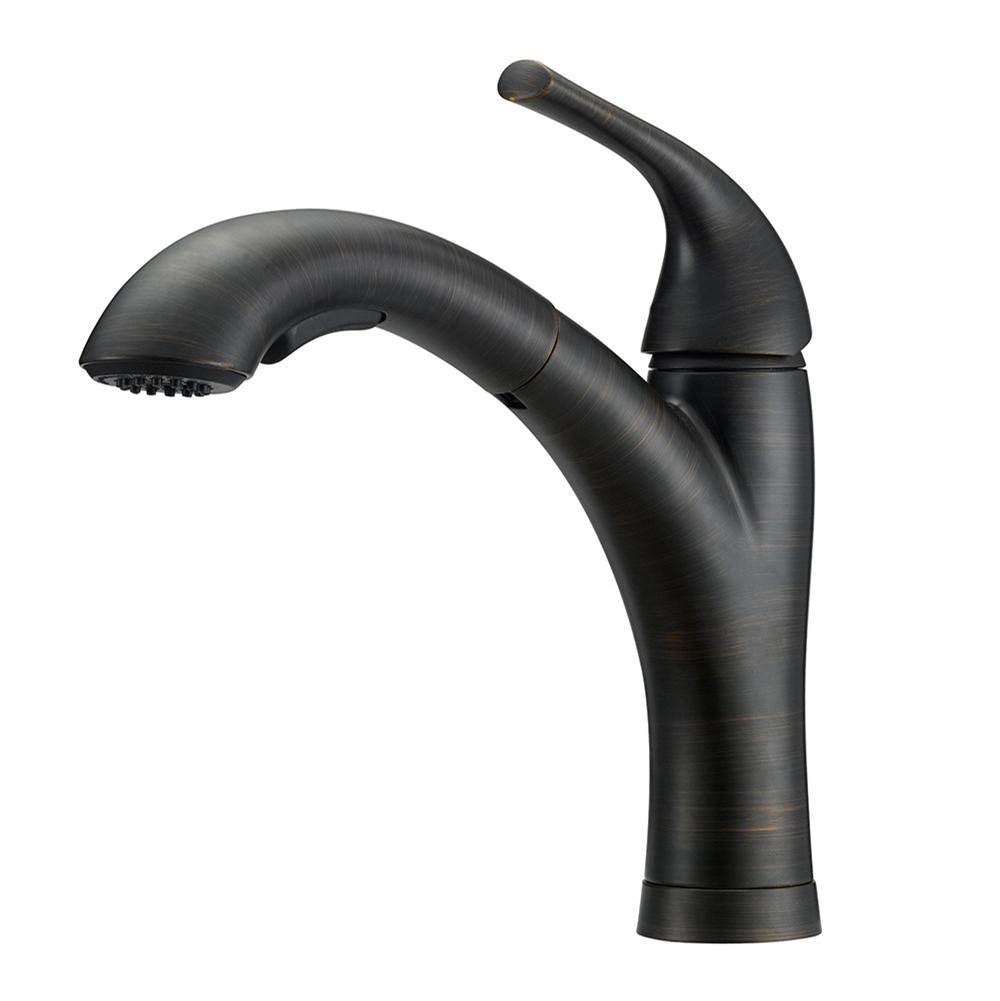 Mainline Collection Pull Out Faucet Kitchen Faucets item CF134-ORB