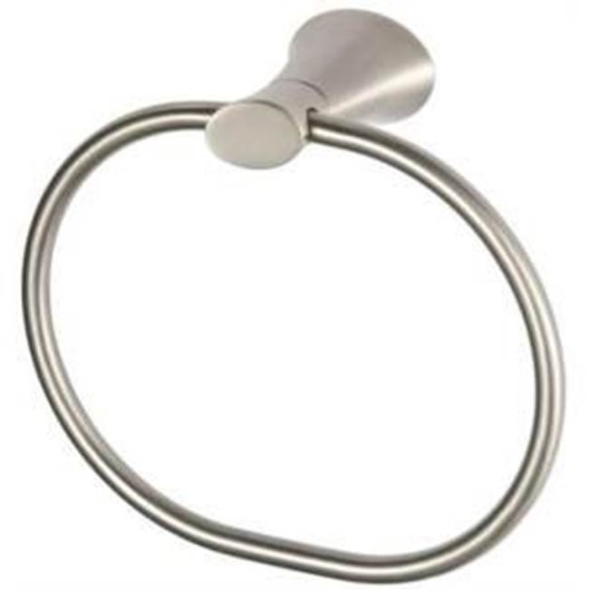 Mainline Collection Towel Rings Bathroom Accessories item TRTR-BN