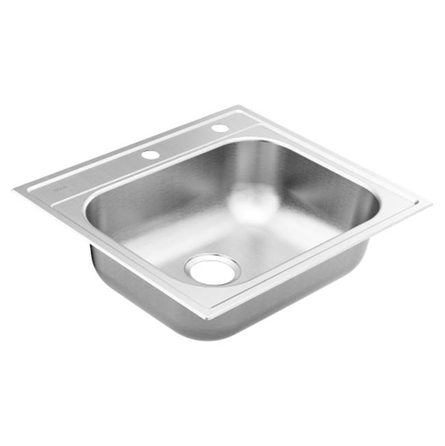 Moen Drop In Kitchen Sinks item GS201962BQ