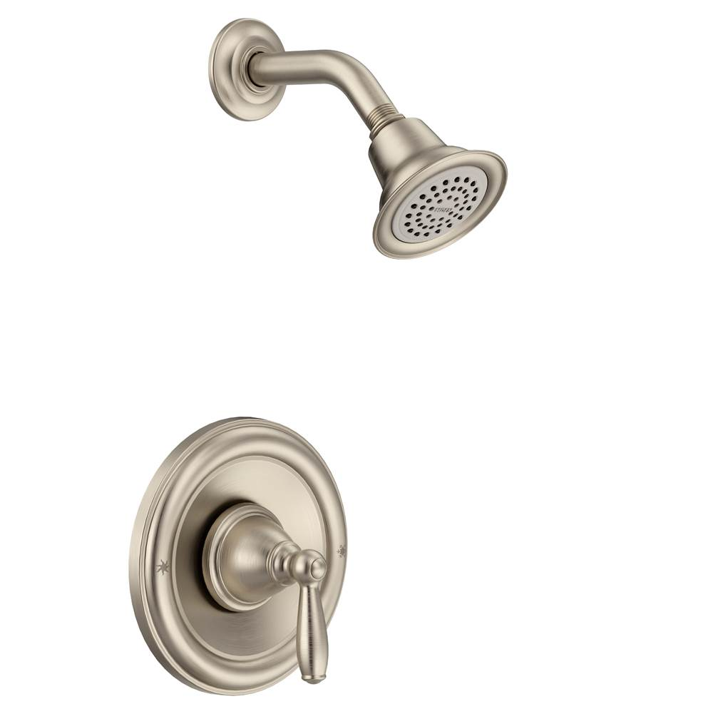 Moen  Shower Only Faucets With Head item T2152BN