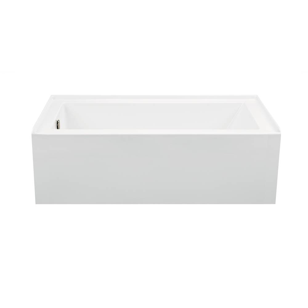 MTI Baths Three Wall Alcove Whirlpool Bathtubs item P151-AL-RH