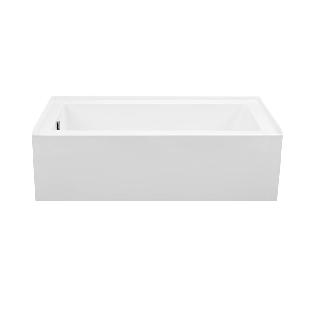MTI Baths Three Wall Alcove Whirlpool Bathtubs item P154U-AL-RH