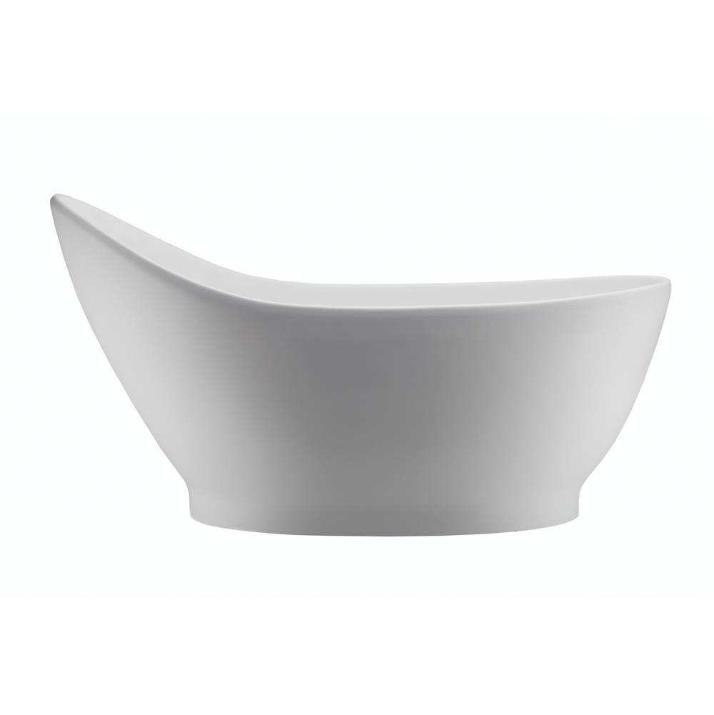MTI Baths Free Standing Soaking Tubs item S199-WH-GL
