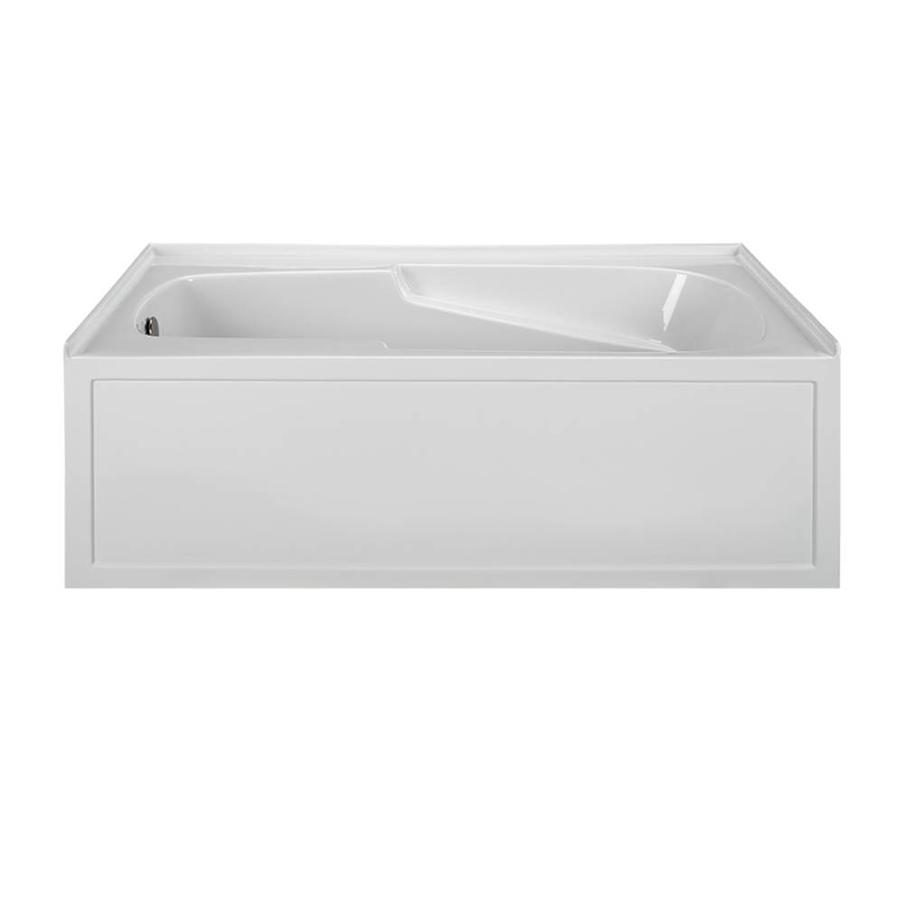 MTI Baths Three Wall Alcove Whirlpool Bathtubs item MBWIS6032-WH-RH