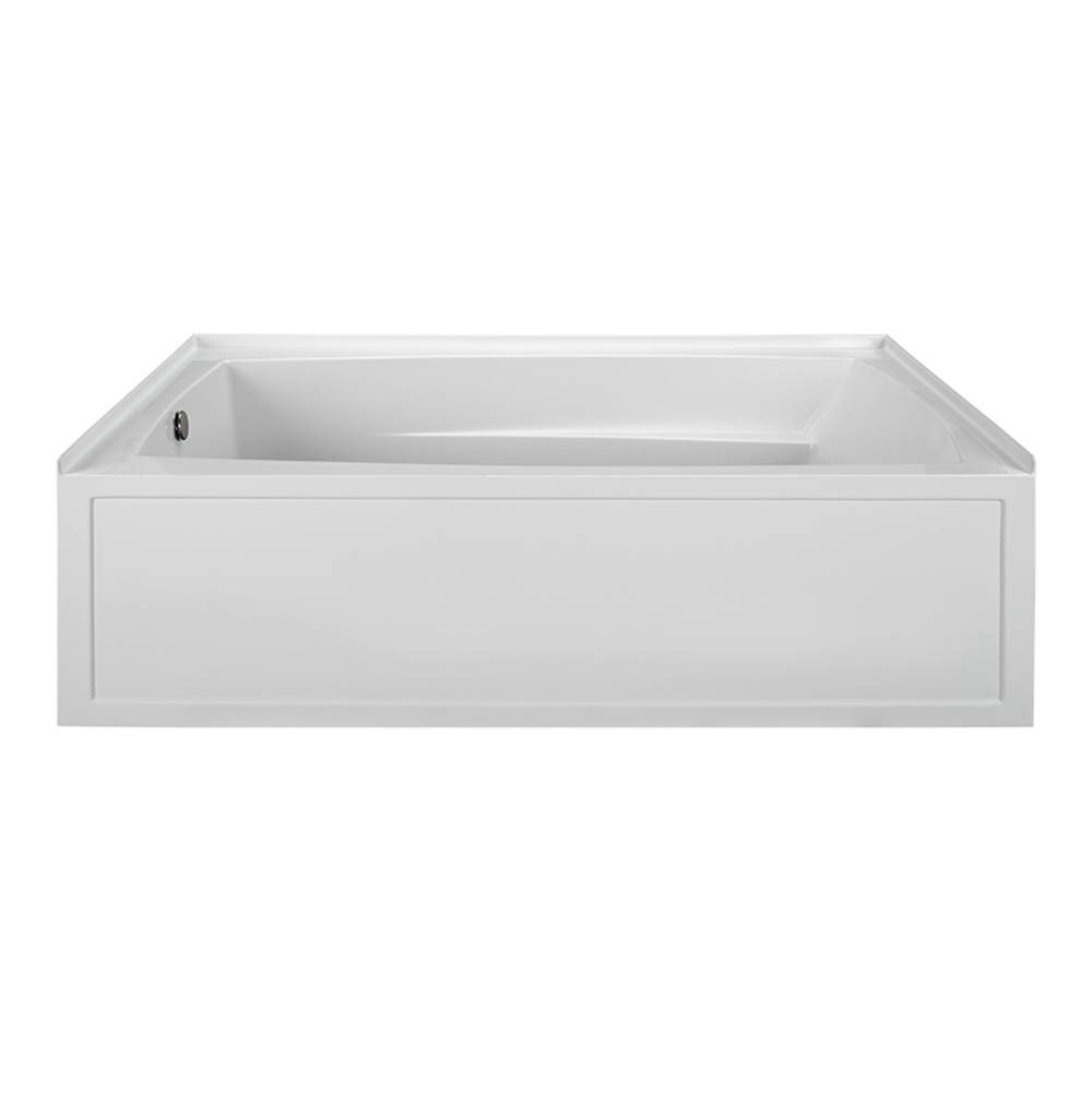 MTI Baths Three Wall Alcove Whirlpool Bathtubs item MBWIS7242-WH-LH