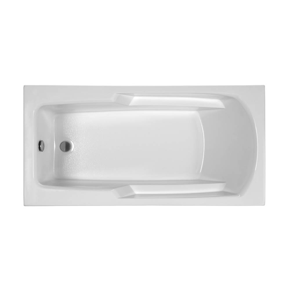 MTI Baths Drop In Whirlpool Bathtubs item MBWRR6030E-WH