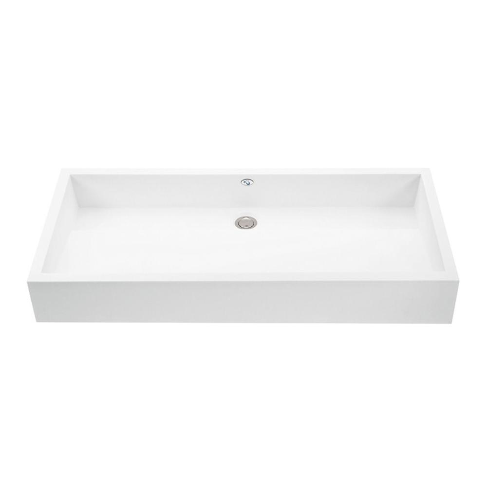 MTI Baths Vanity Tops Vanities item MTCS713-WH-GL