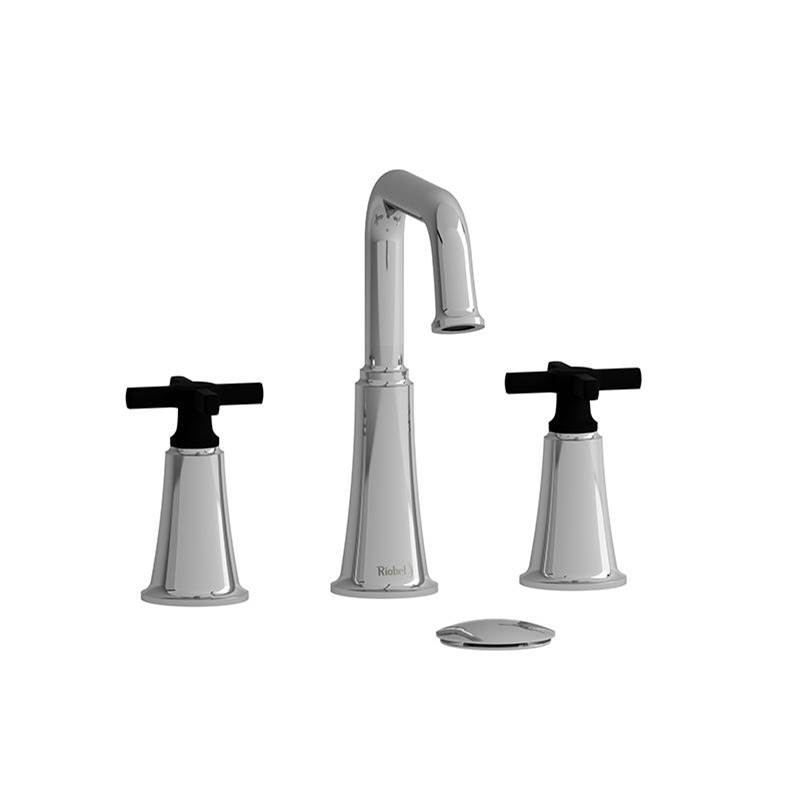 Riobel Widespread Bathroom Sink Faucets item MMSQ08+CBK-05