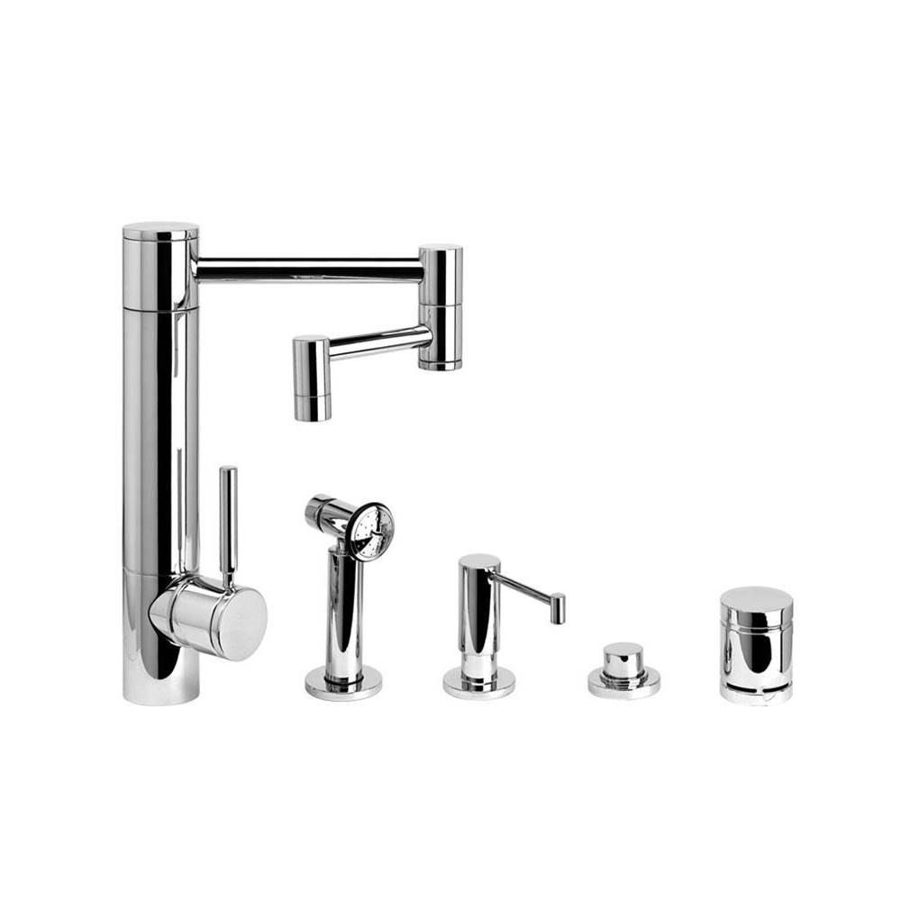 Waterstone Single Hole Kitchen Faucets item 3600-12-4-CB