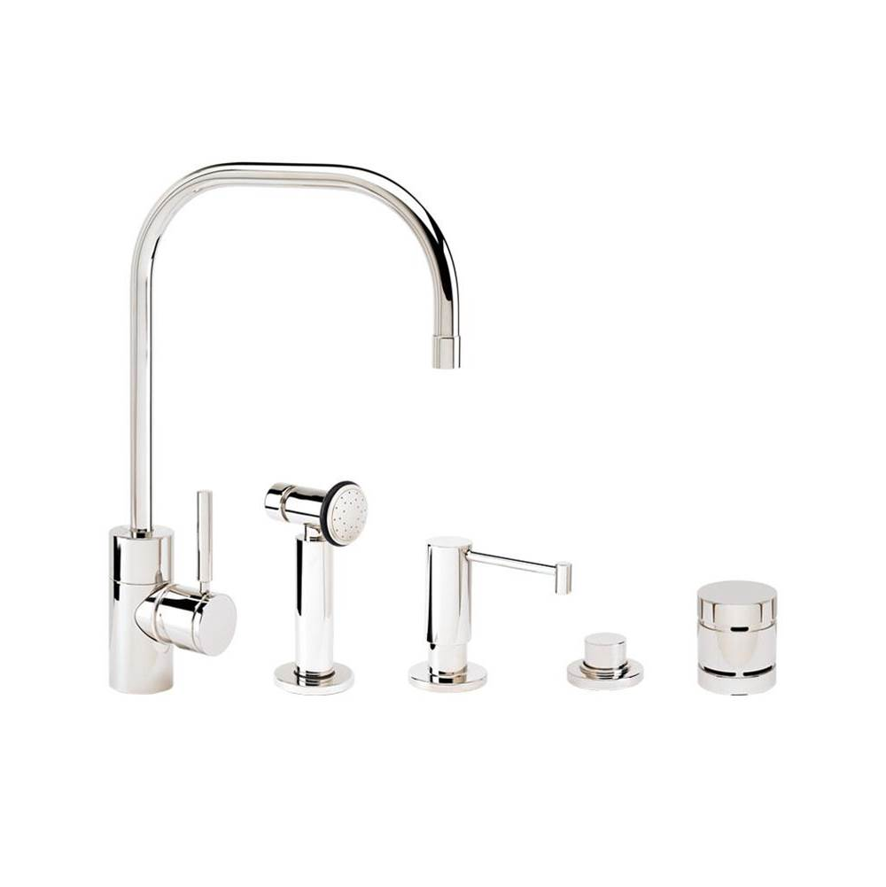 Waterstone Single Hole Kitchen Faucets item 3825-4-PG